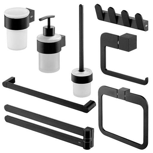 Akcesoria łazienkowe Dodatki Do łazienki Komplety