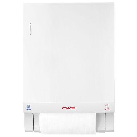 ca7084910f435c Pojemnik na ręczniki bawełniane w rolce CWS-boco plastik biały