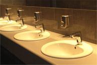 Łazienka w miejscu pracy