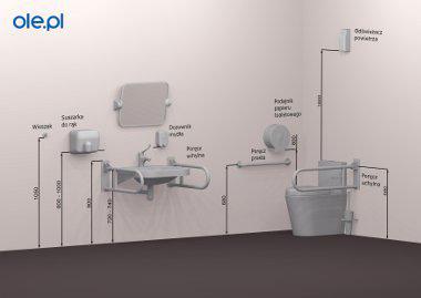 Wysokość Montażu Wyposażenie Wc I łazienki Dla