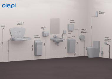 Wysokość Montażu Wyposażenie Wc I łazienki Dla Niepełnosprawnych
